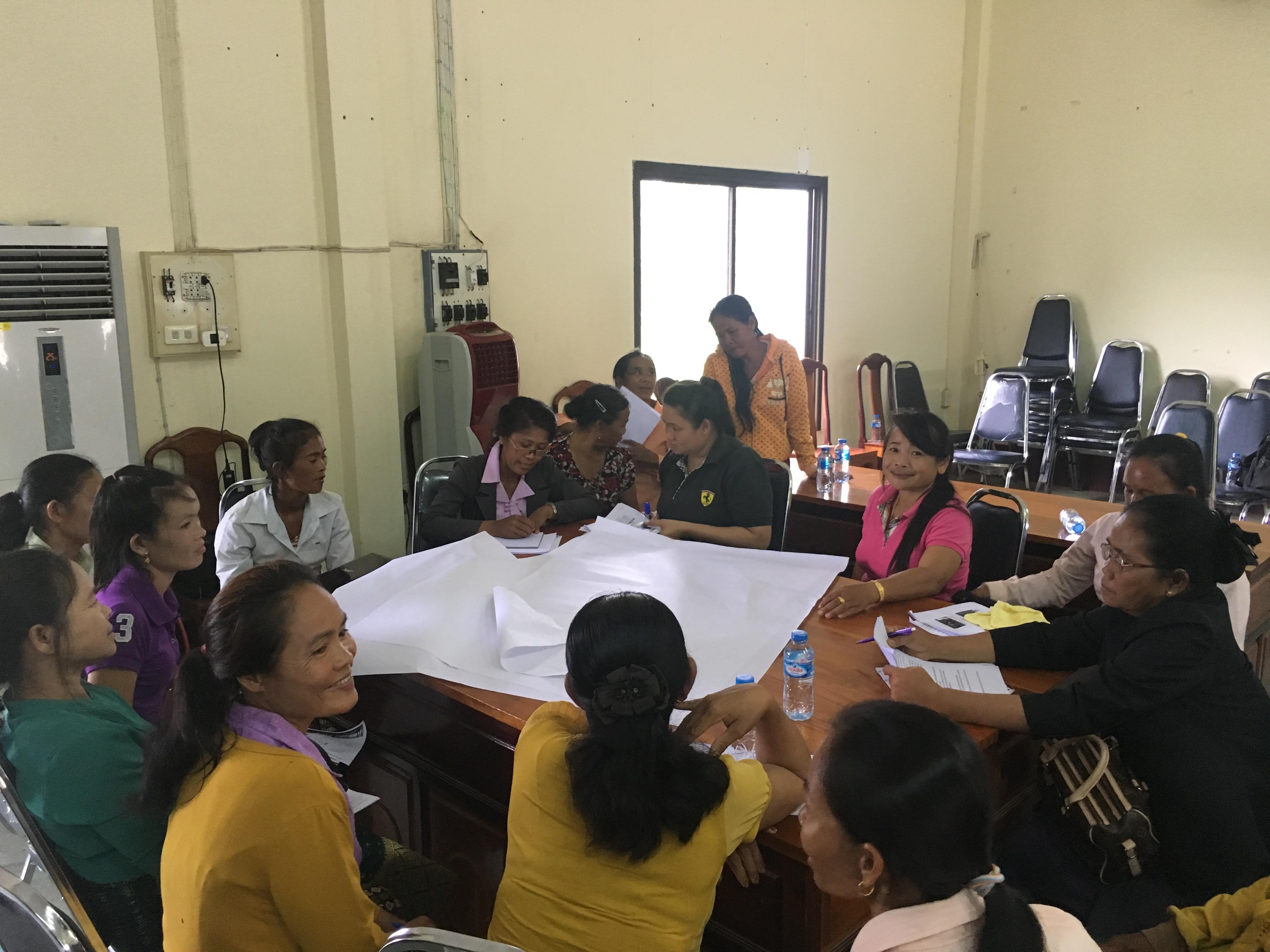 ກອງປະຊຸມປຶກສາຫາລືການສ້າງເຄືອຂ່າຍຊາວກະສິກອນແຂວງອັດຕະປື Consultation workshop on strengthening farmer network in Attapue province