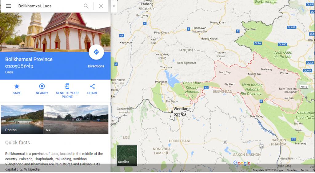 Bolikhamsai Province, Laos