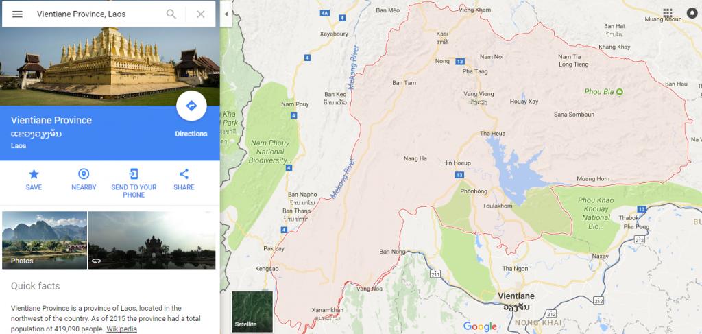 Vientiane Province, Laos